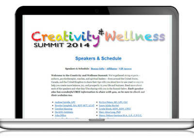 Creativity Wellness Summit