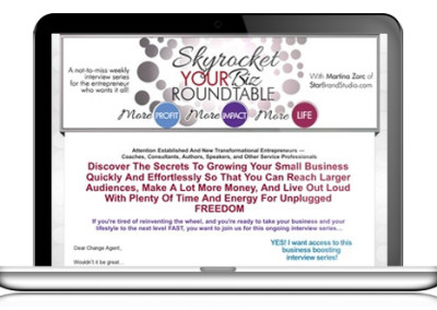 Skyrocket Your Biz Giveaway